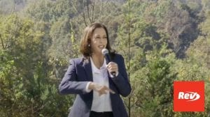 Kamala Harris Get Out the Vote Event Speech Transcript October 21