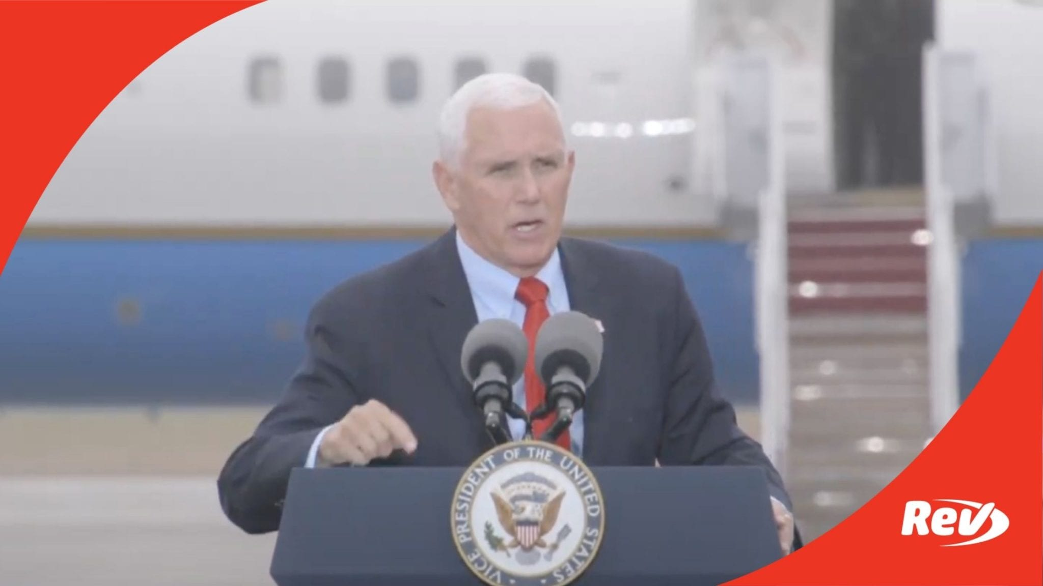 Mike Pence Campaign Speech Portsmouth, NH Transcript October 21