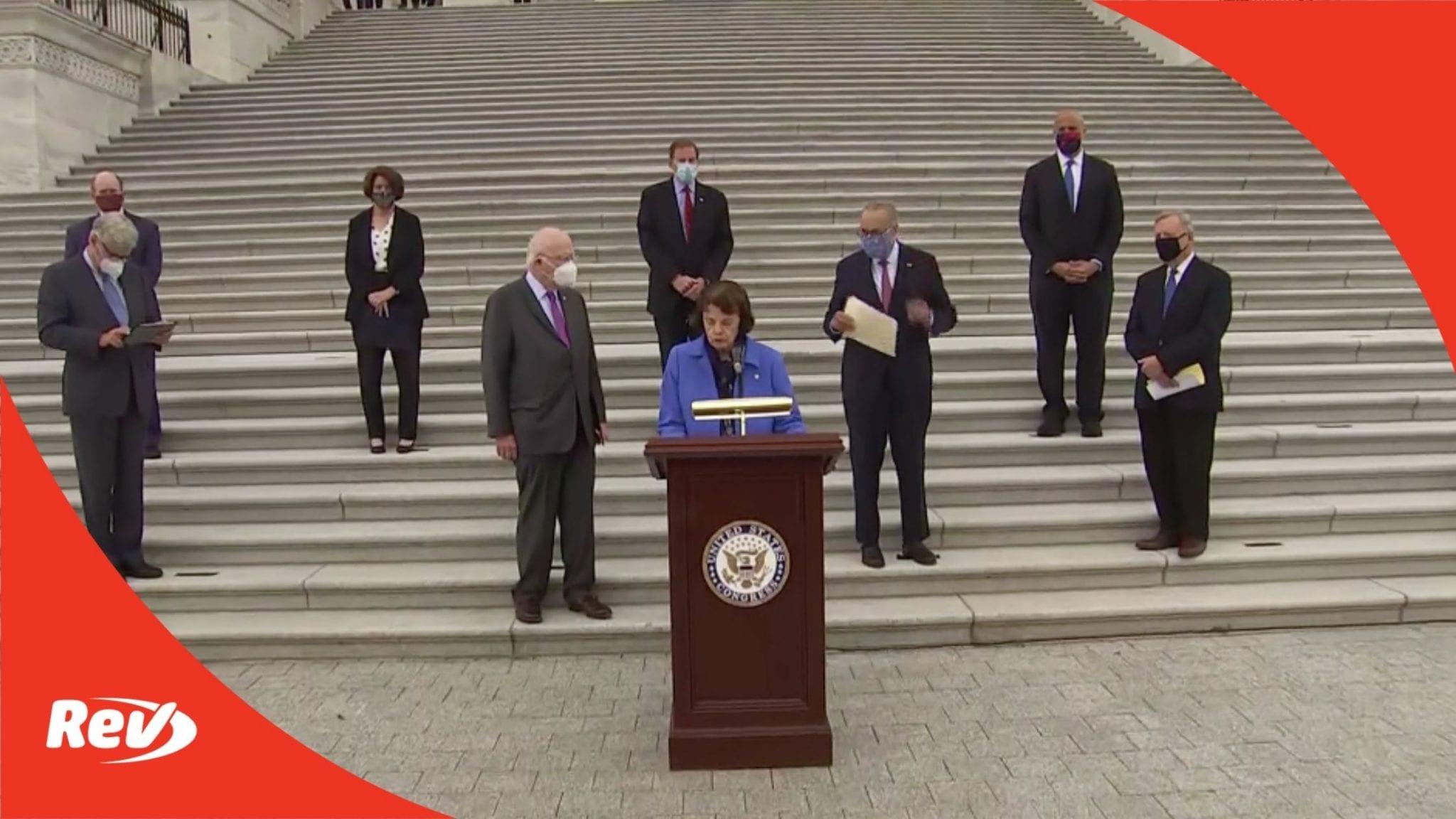 Sen. Schumer & Senate Democrats Press Conference Transcript on Amy Coney Barrett Confirmation October 22