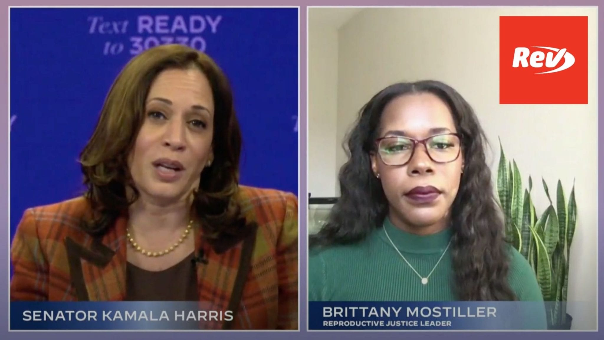 Kamala Harris 'Women for Biden' Virtual Rally Transcript October 22