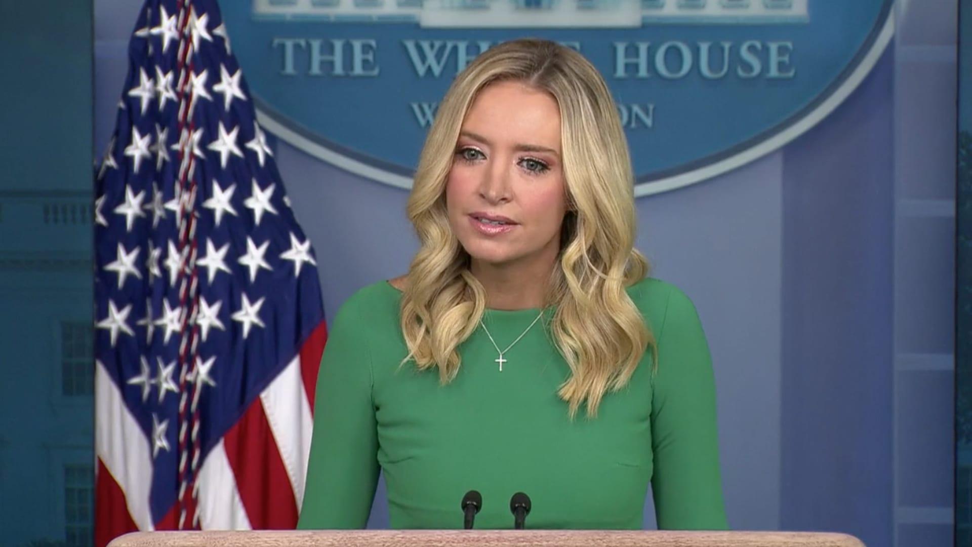 Press Secretary Kayleigh McEnany White House Press Conference Transcript November 20