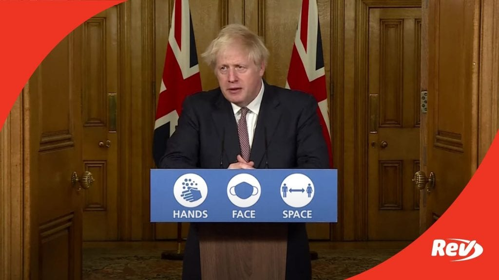 Boris Johnson Coronavirus Update November 26