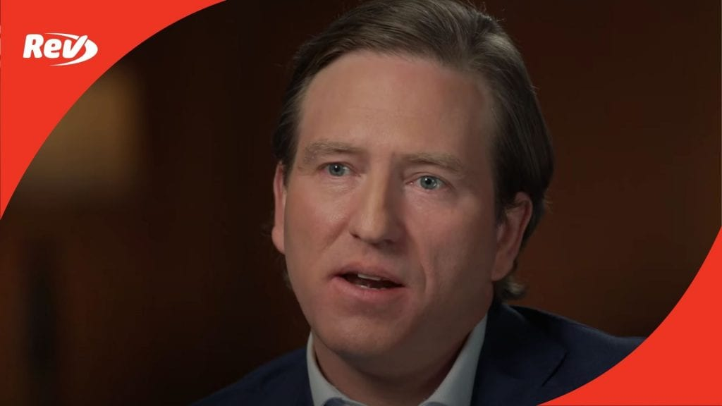 Chris Krebs 60 Minutes Interview Transcript