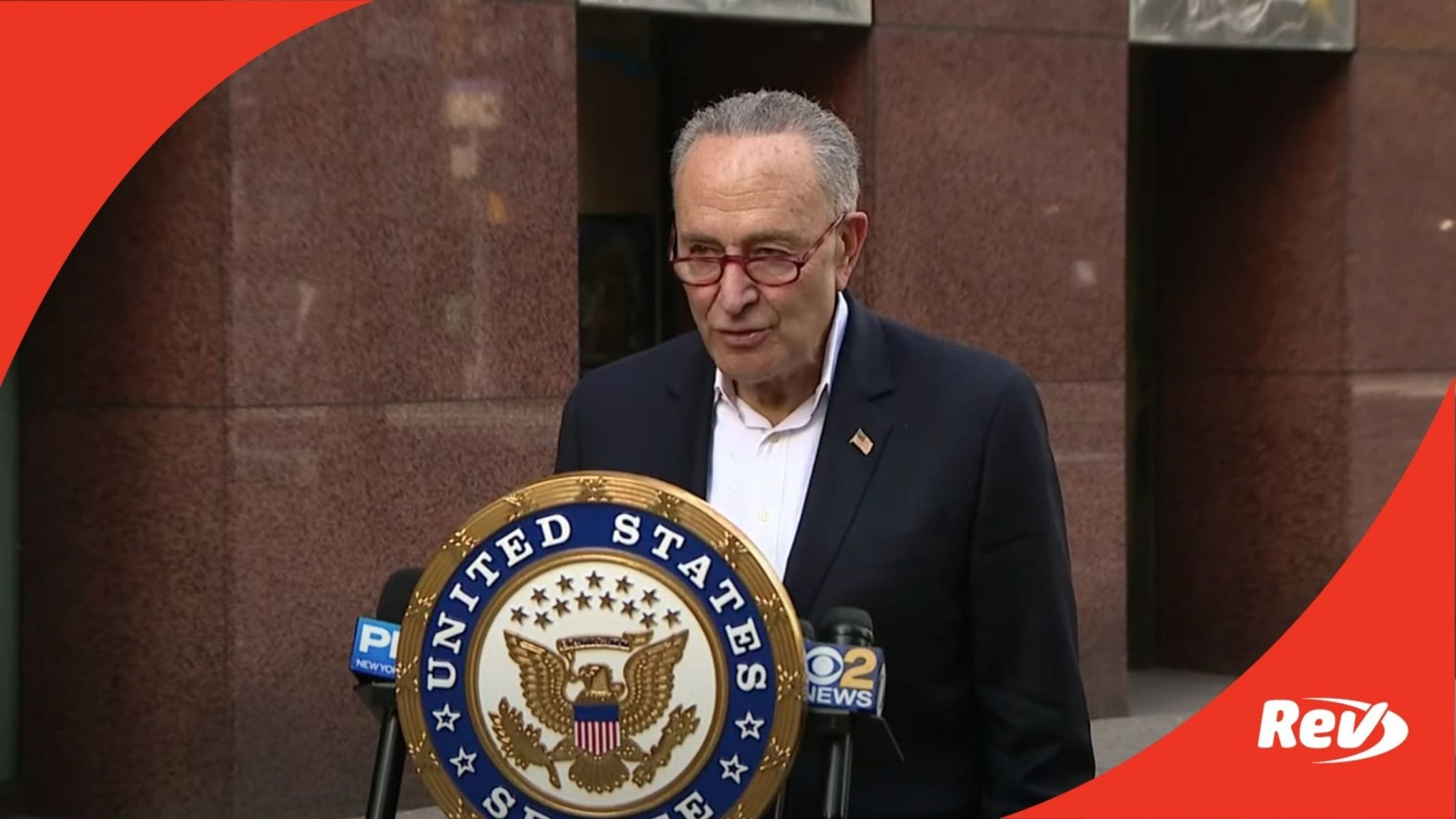 Chuck Schumer Press Conference Transcript Brooklyn