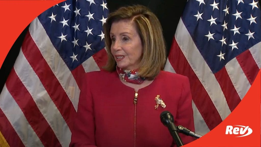 Nancy Pelosi Election Night Speech Transcript 2020