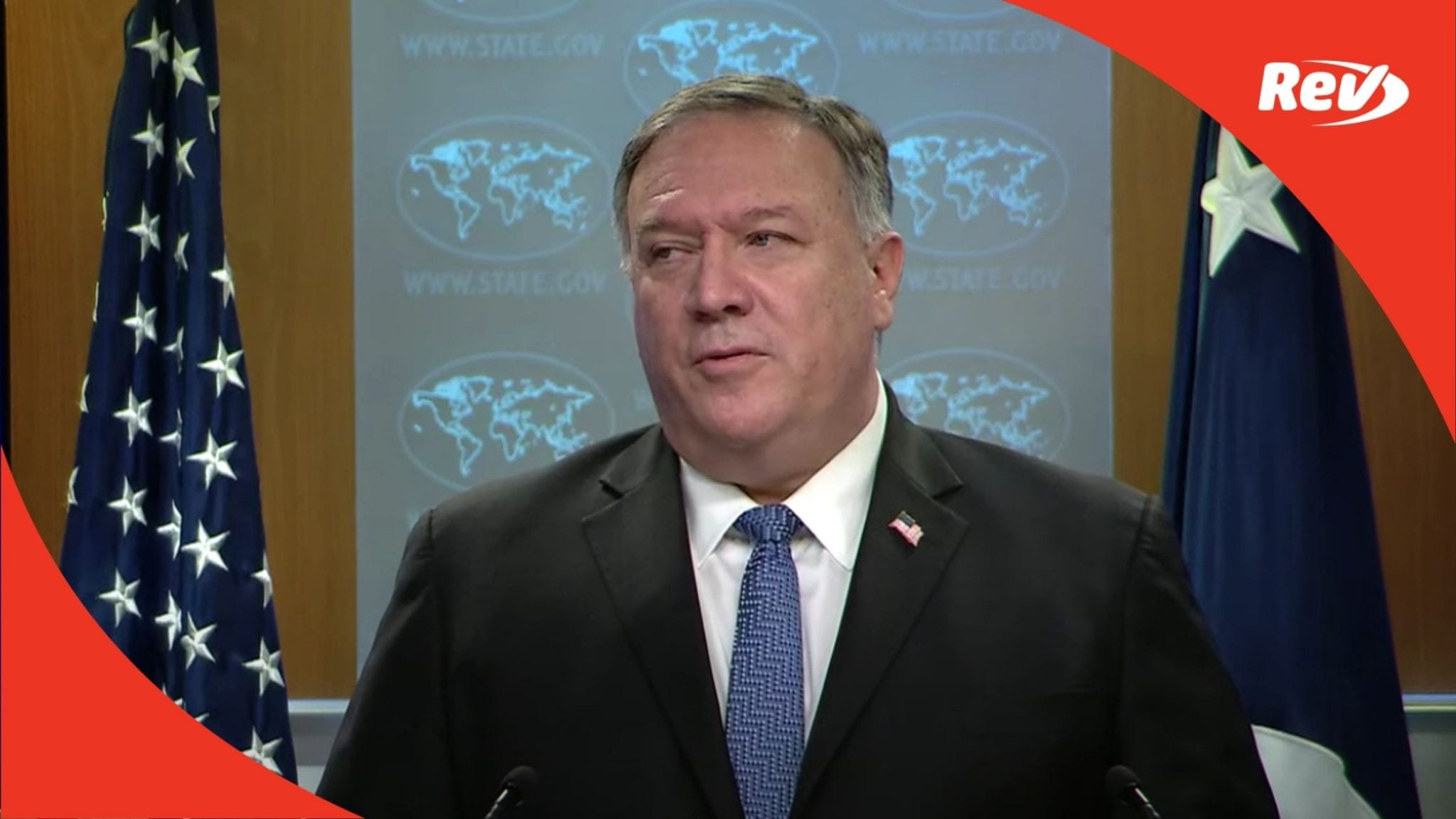 Mike Pompeo Press Conference Transcript November 10: Talks International Relations, Presidential Election