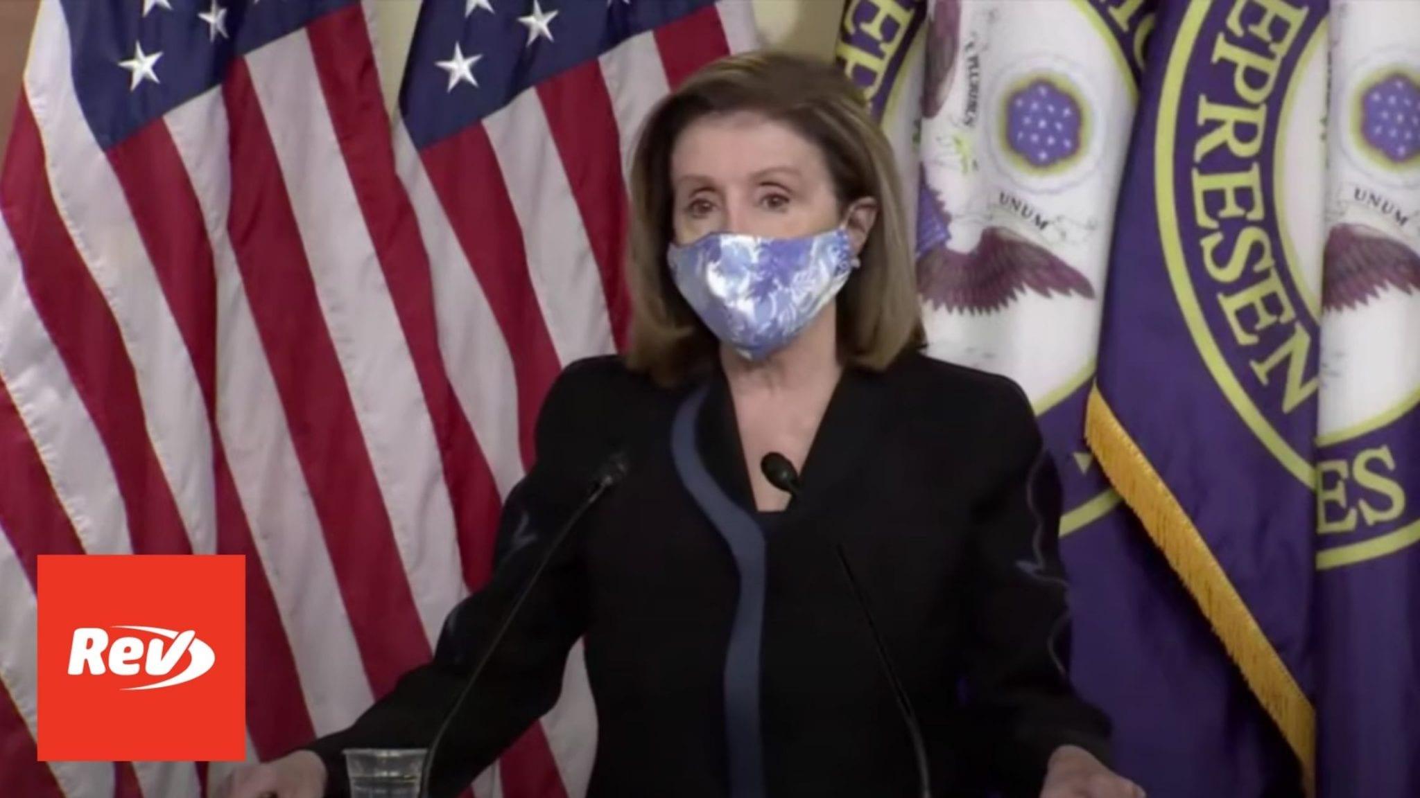 House Speaker Nancy Pelosi Weekly Press Conference Transcript November 13