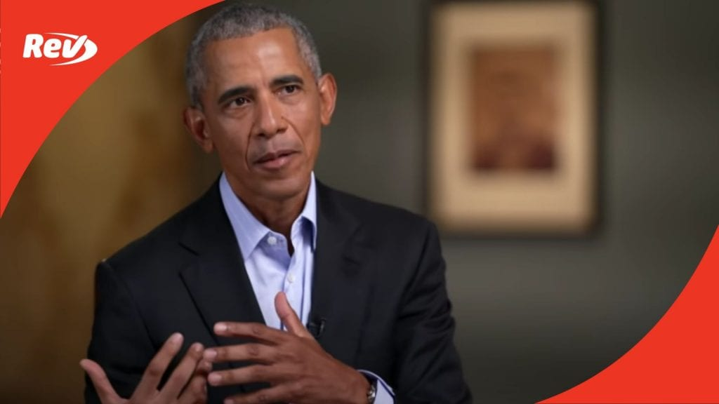 Barack Obama 2020 60 Minutes Interview Transcript