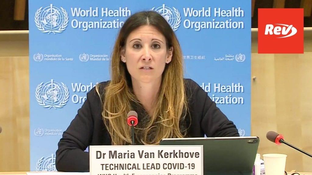 World Health Organization (WHO) Coronavirus Press Briefing Transcript November 16: Talk Moderna Vaccine