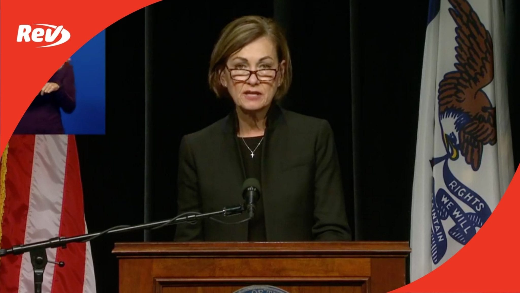 Iowa Gov. Kim Reynolds Press Conference Transcript November 17: Mask Mandate