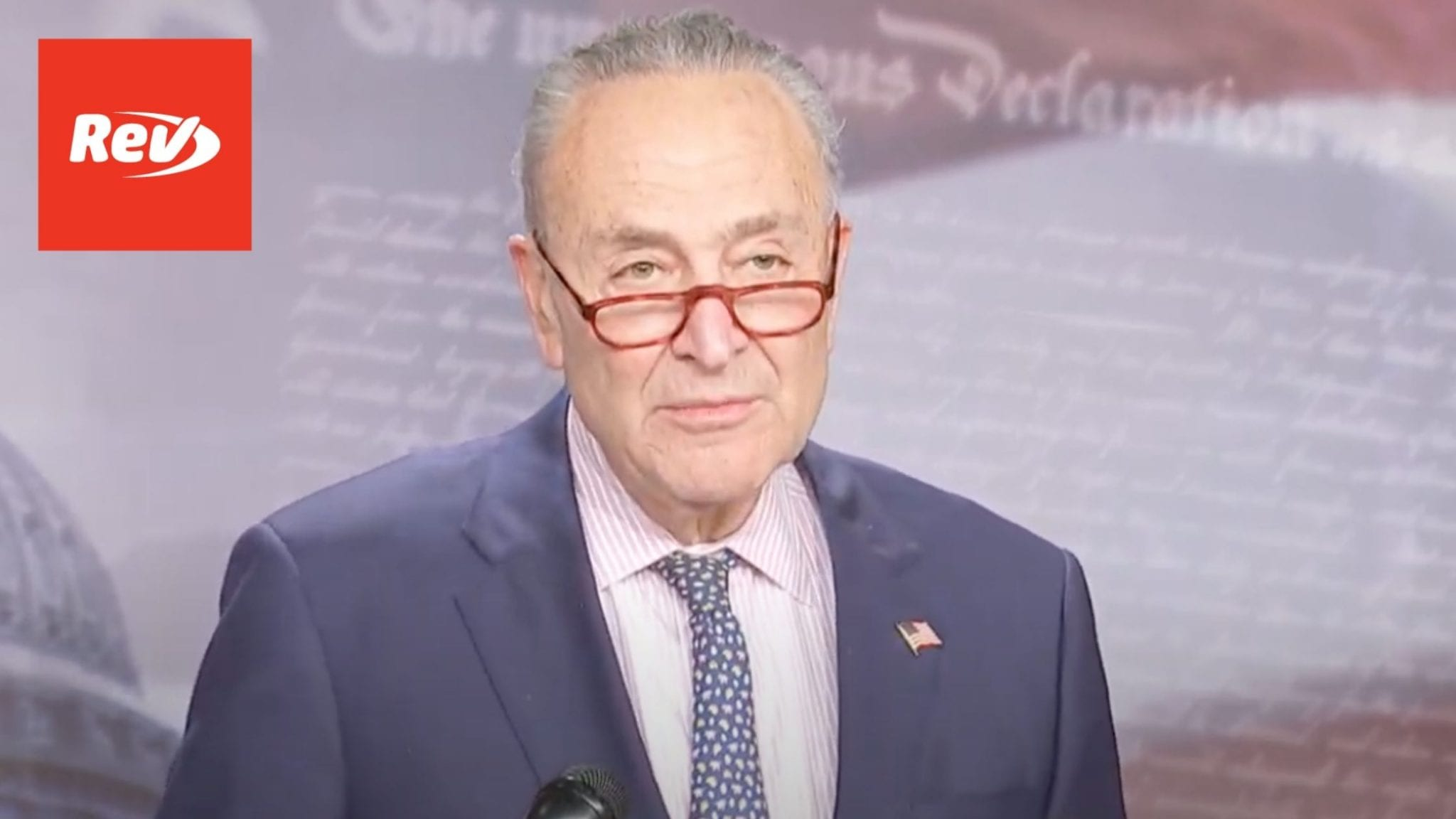 Chuck Schumer Press Conference Transcript November 17