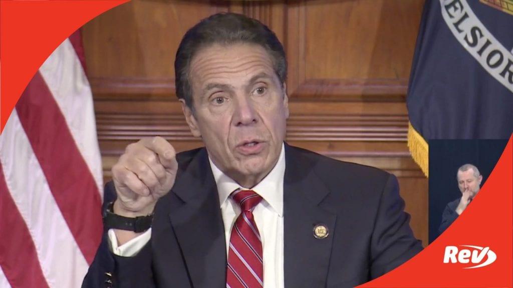 New York Gov. Andrew Cuomo Press Conference Transcript November 18