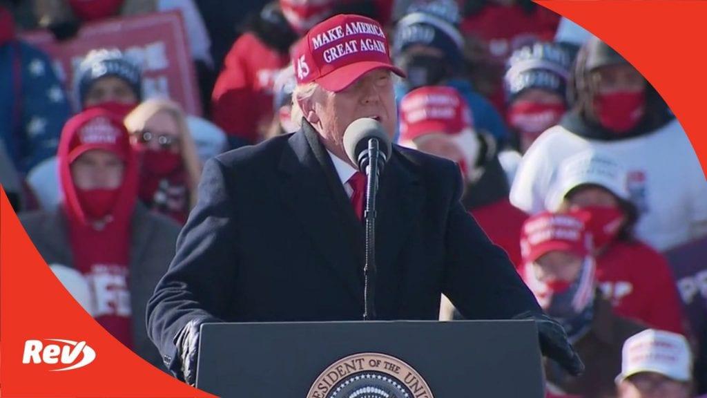 Donald Trump Rally Speech Transcript Dubuque, Iowa November 1