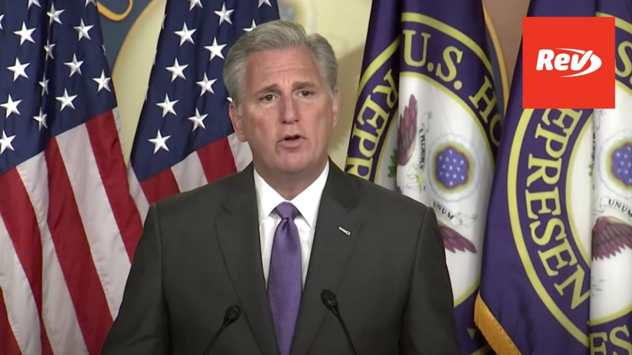 House Minority Leader Kevin McCarthy Press Conference Transcript November 19