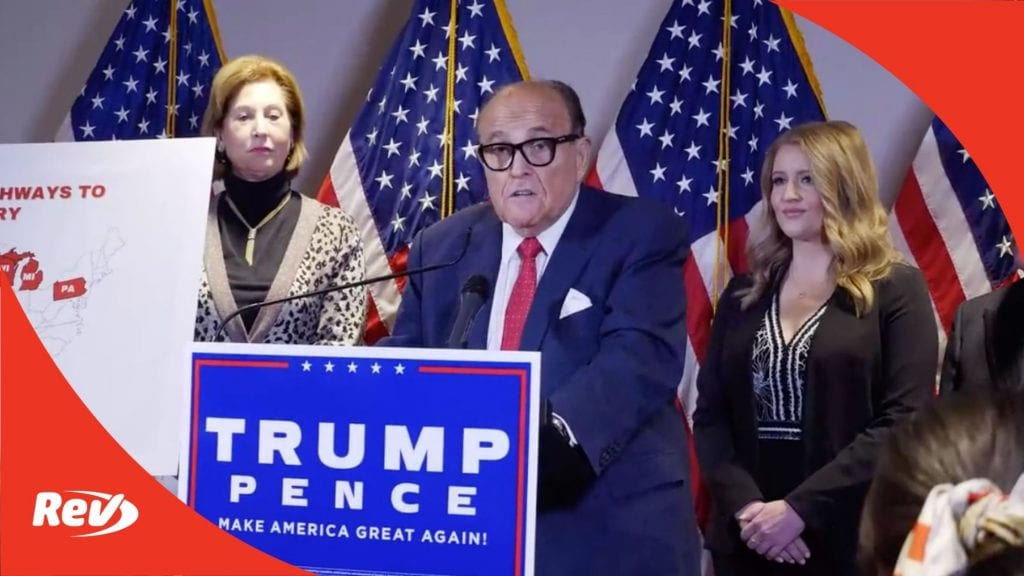 Rudy Giuliani Voicemail Transcript: Slow Down Election Confirmation Hearing