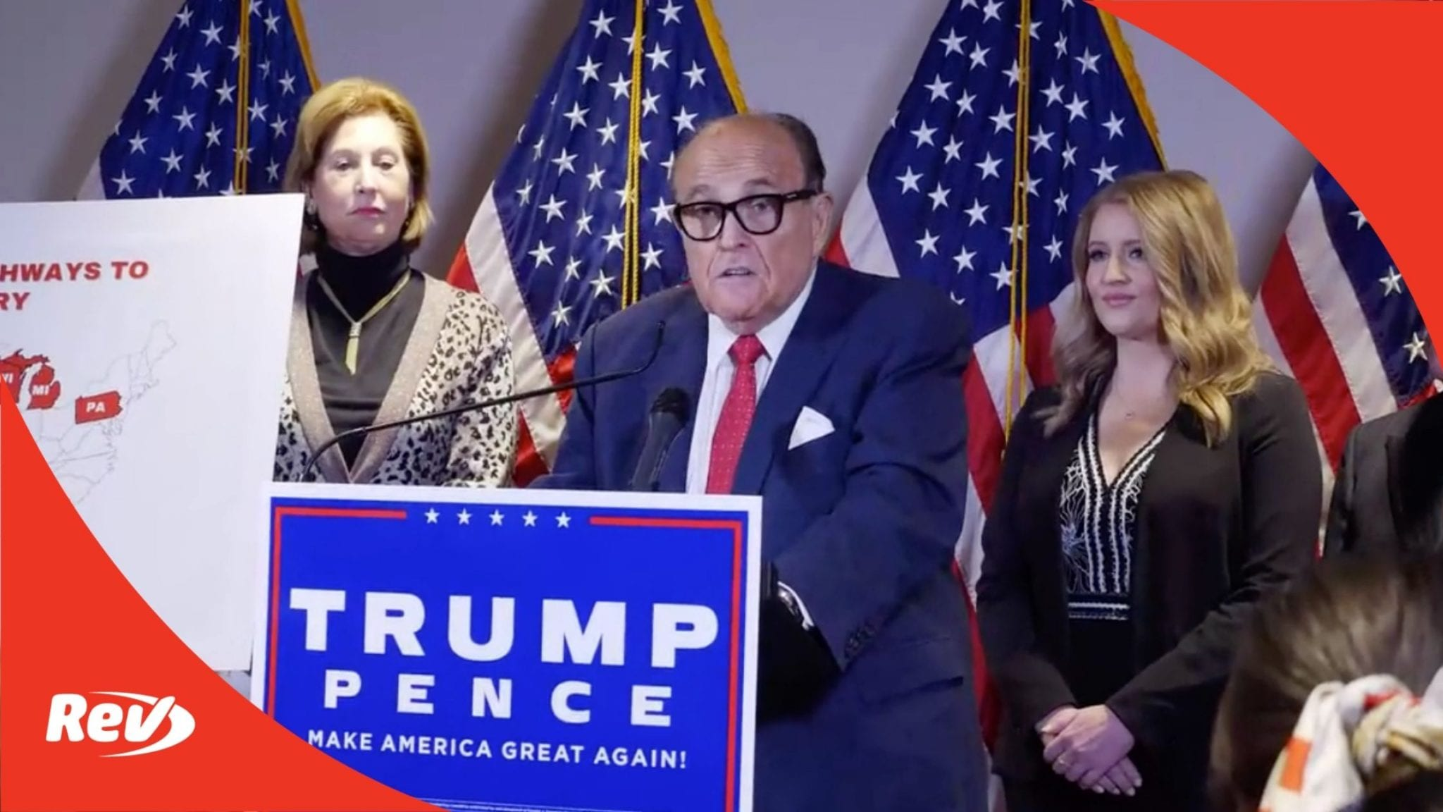 Rudy Giuliani Trump Campaign Press Conference Transcript November 19