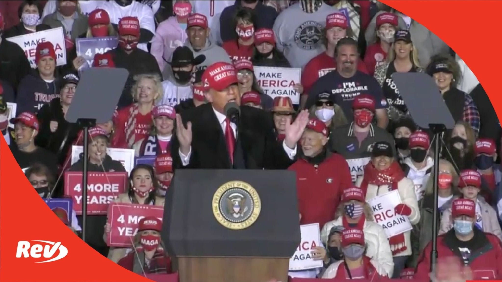 Donald Trump Rally Speech Transcript Rome, Georgia November 1