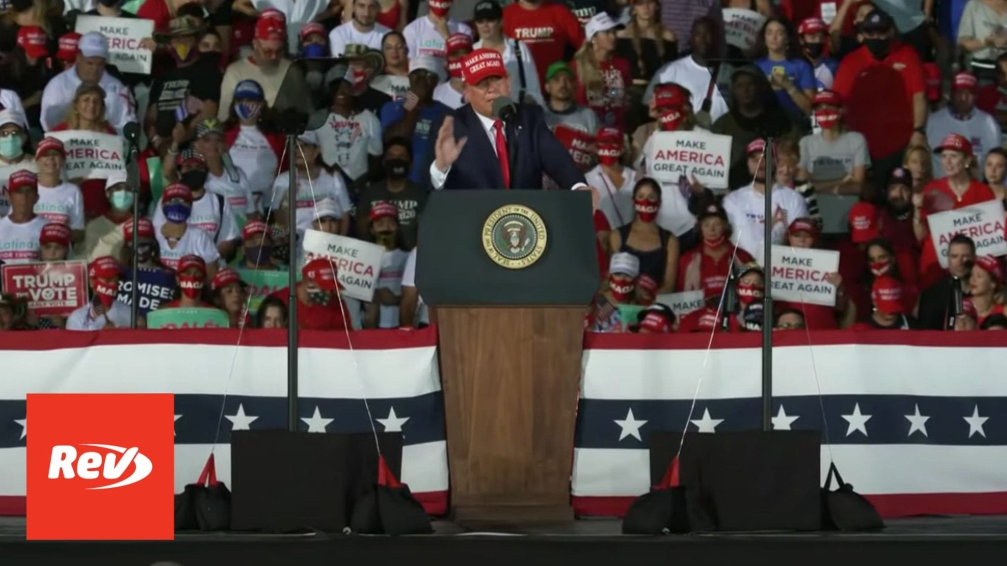 Donald Trump Rally Speech Transcript Opa-locka, Florida November 1