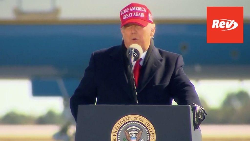 Donald Trump Rally Speech Transcript Fayetteville, NC November 2