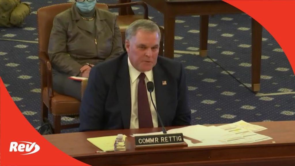 IRS Commissioner Testimony House Oversight Hearing Transcript November 20