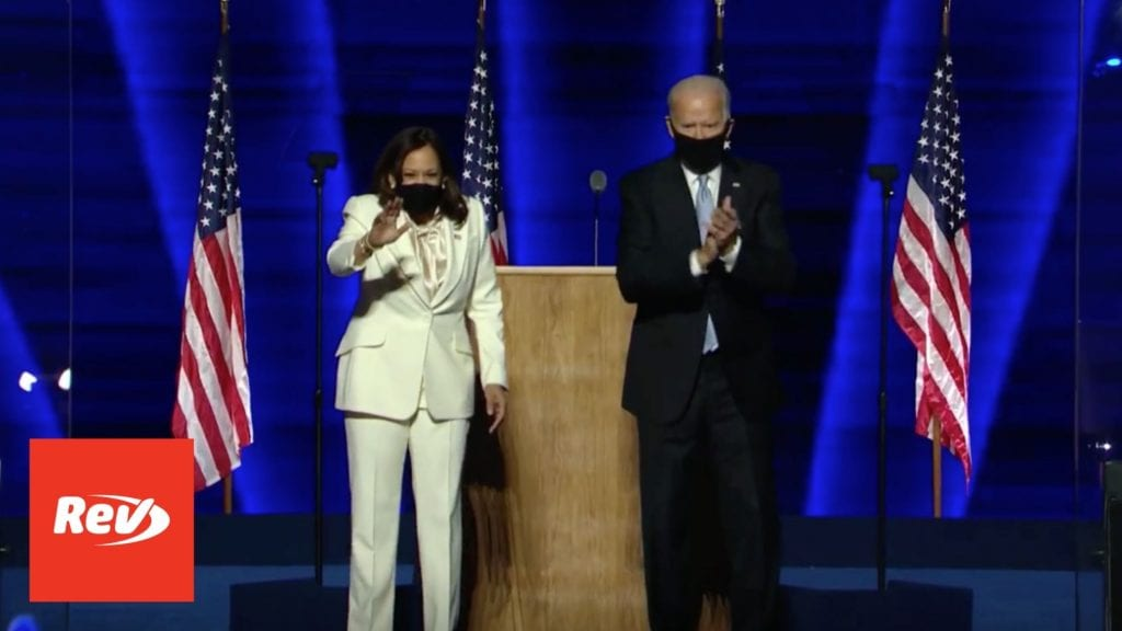 Joe Biden & Kamala Harris Address Nation After Victory Speech Transcript November 7