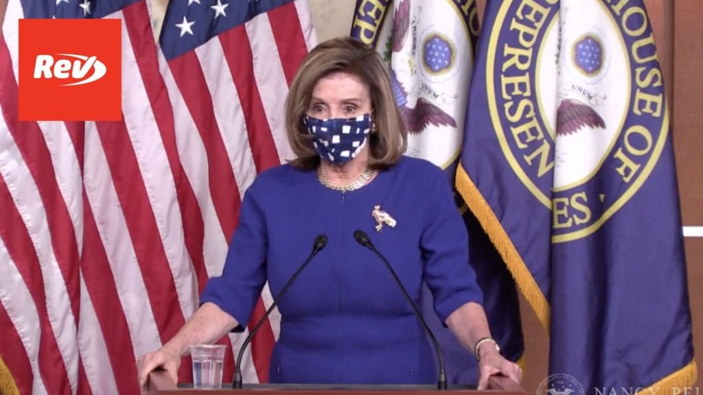 House Speaker Nancy Pelosi Weekly Press Conference Transcript November 20