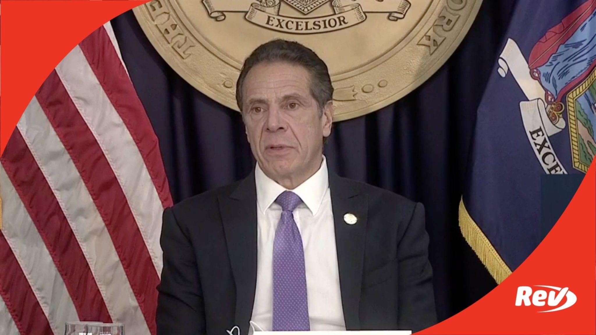 New York Gov. Andrew Cuomo COVID-19 Press Conference Transcript November 23