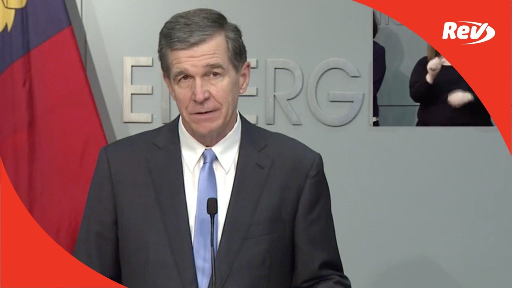 North Carolina Gov. Roy Cooper Press Conference Transcript November 23