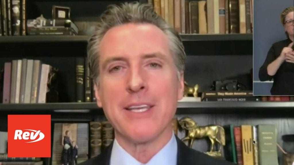 California Gov. Gavin Newsom COVID-19 Press Conference Transcript November 23