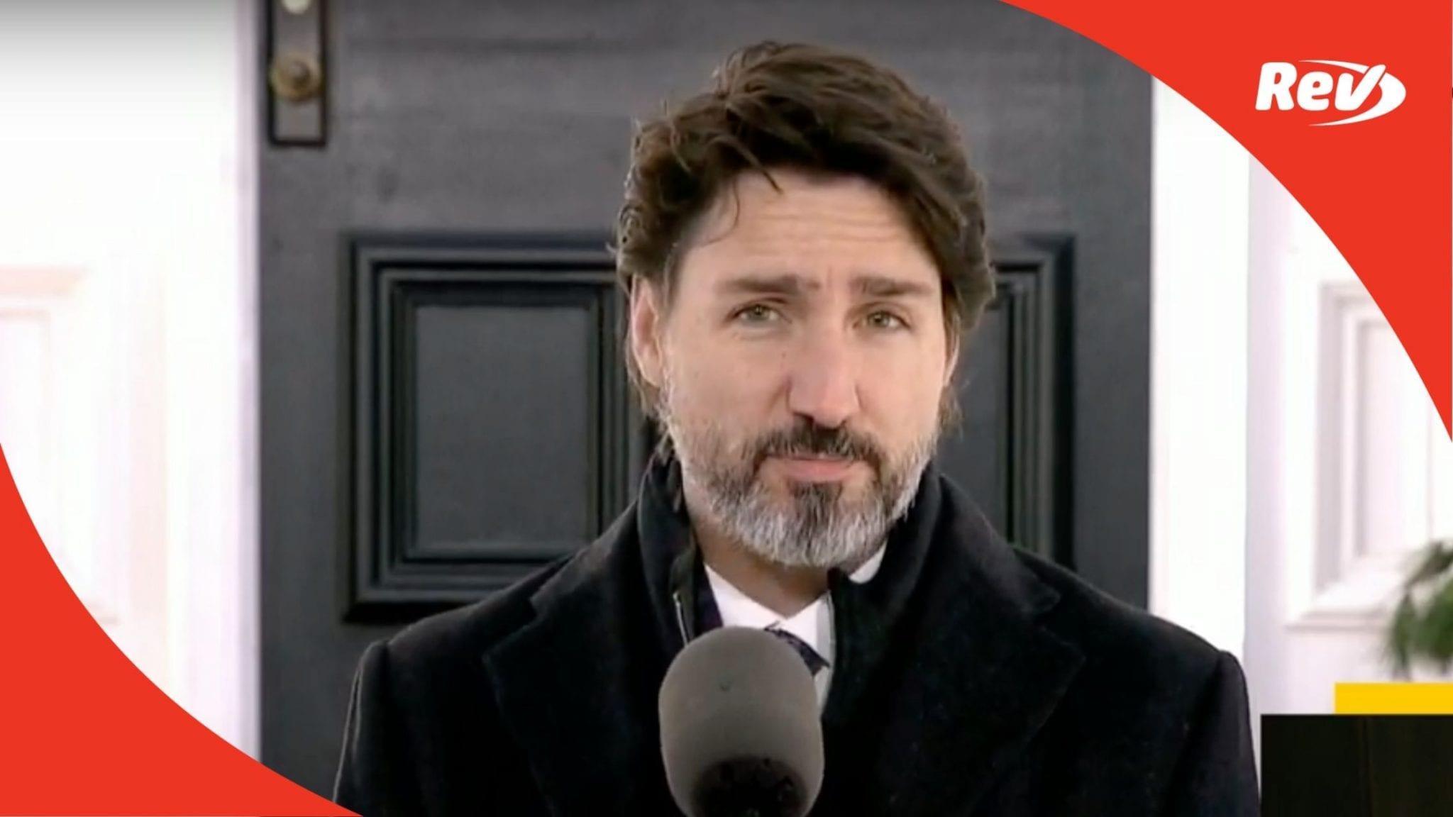 Justin Trudeau November 24 COVID-19 Press Conference Transcript