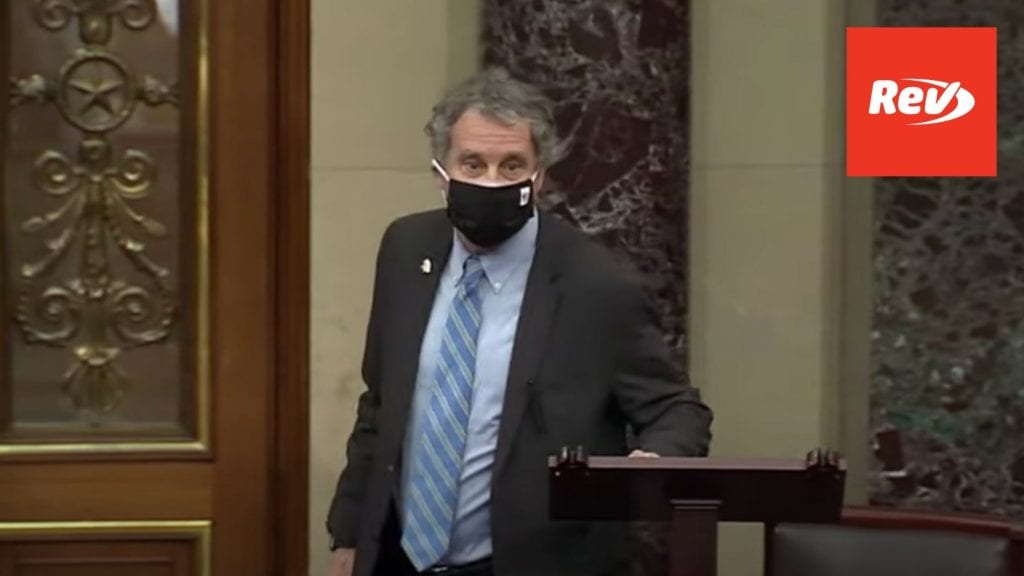 Sherrod Brown and Dan Sullivan on Masks