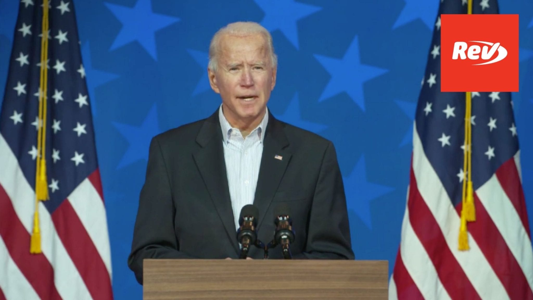 Joe Biden Covid-19 Remarks Transcript November 5