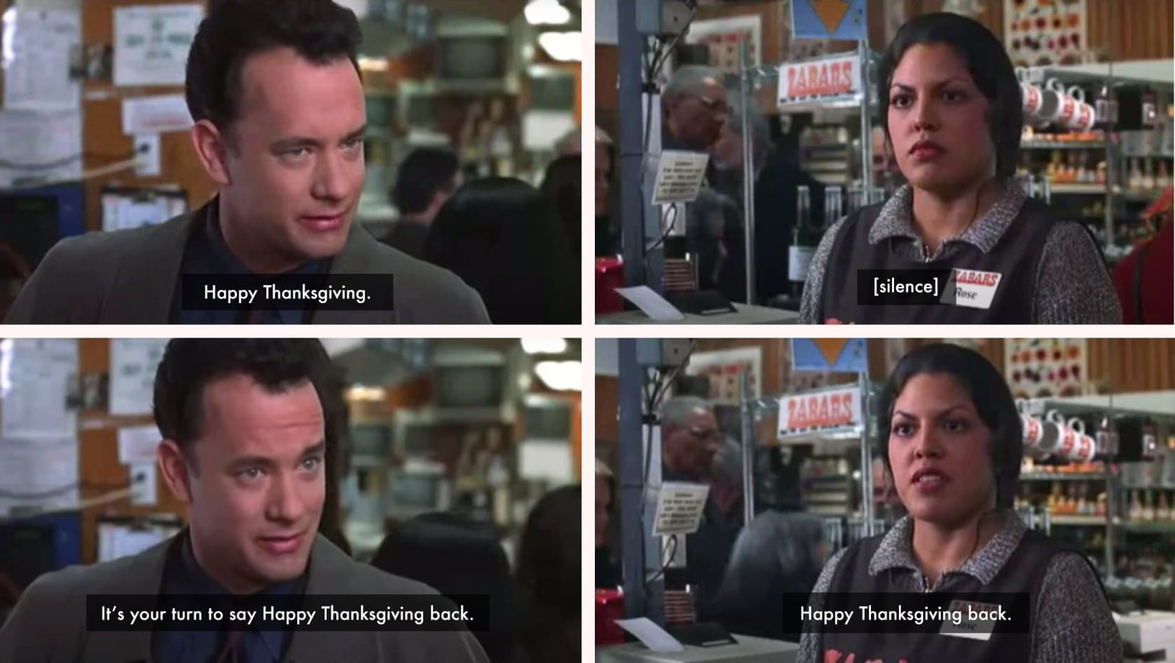 Best Thanksgiving quotes and closed captions