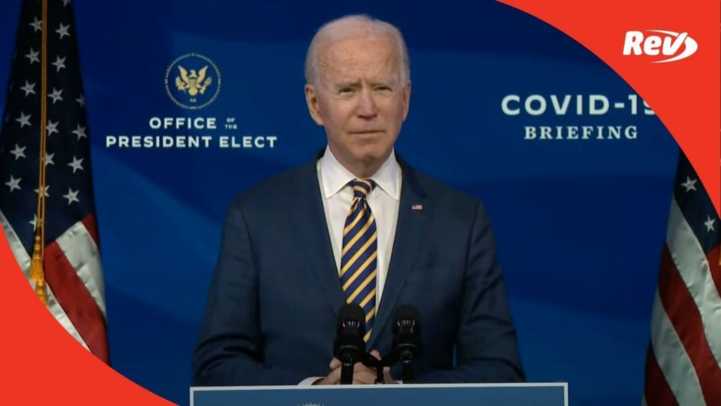 Biden Speech on Coronavirus Vaccination Efforts