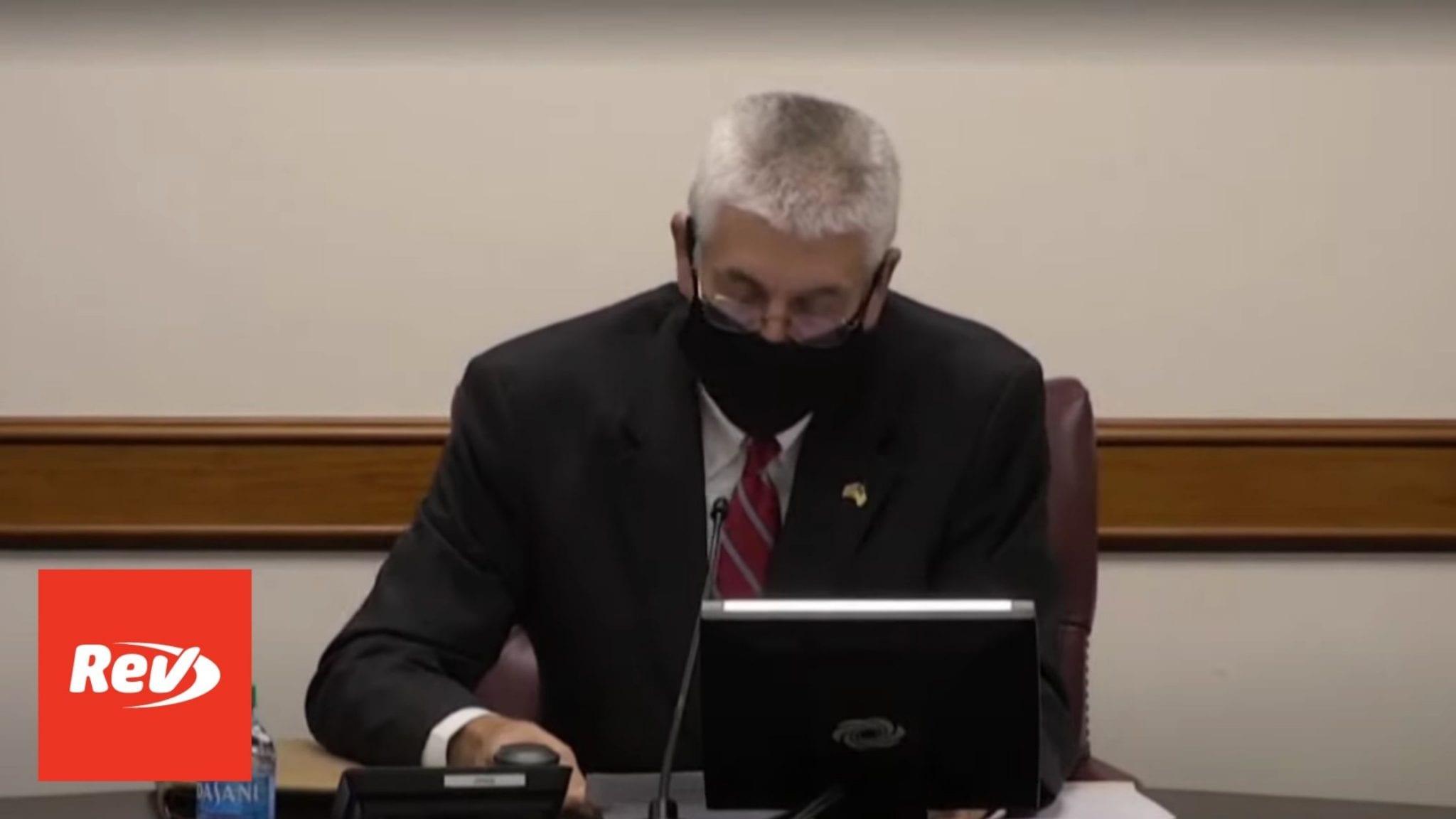 Georgia Senate Election Hearing Transcript December 3