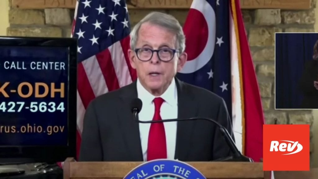 Mike DeWine December 4 COVID Press Conference
