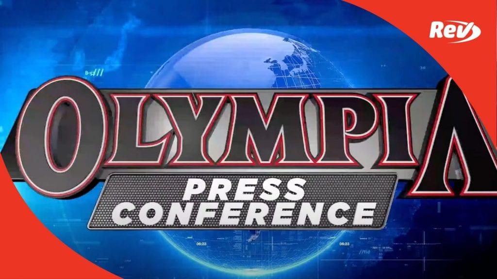 Mr Olympia 2020 Press Conference Transcript
