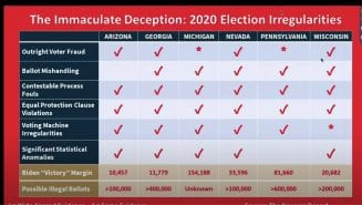 Peter Navarro 'The Immaculate Deception' Report News Conference Transcript - Rev
