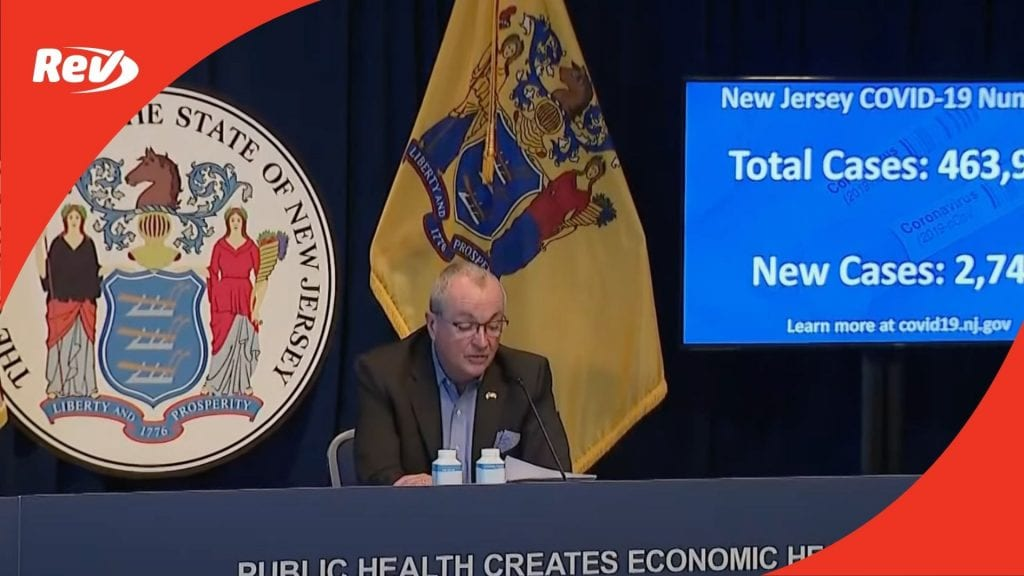 Phil Murphy Press Conference December 28