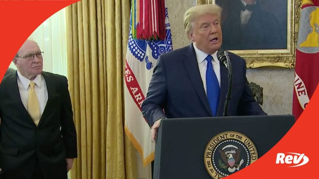 Donald Trump Presents Medal of Freedom to Dan Gable Transcript December 7
