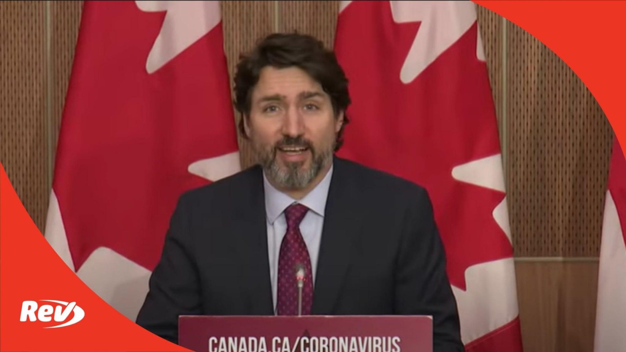 Justin Trudeau December 7 COVID-19 Press Conference Transcript
