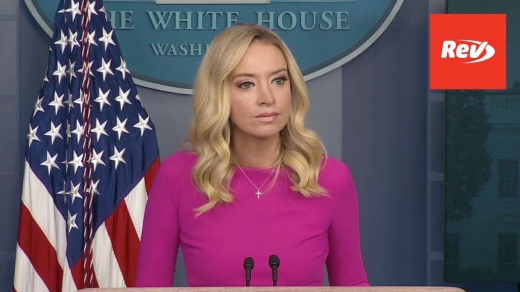 Press Secretary Kayleigh McEnany White House Press Conference Transcript December 2