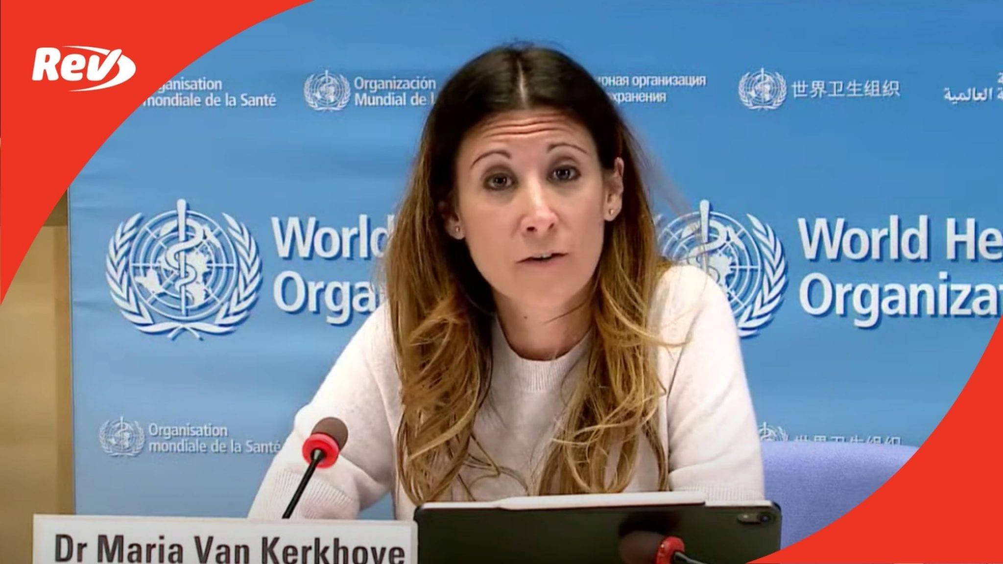 World Health Organization (WHO) Coronavirus Press Briefing Transcript December 11