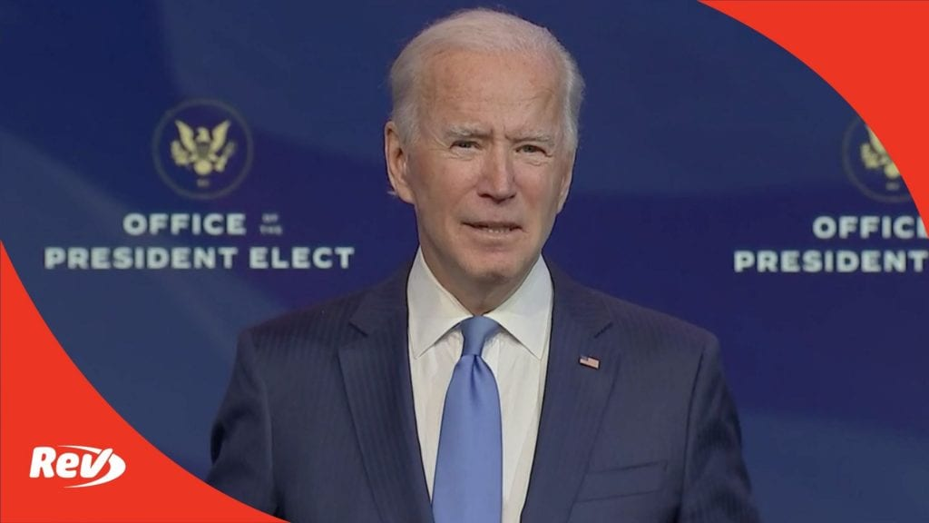 Joe Biden Announces Key Administration Officials Press Briefing Transcript December 11