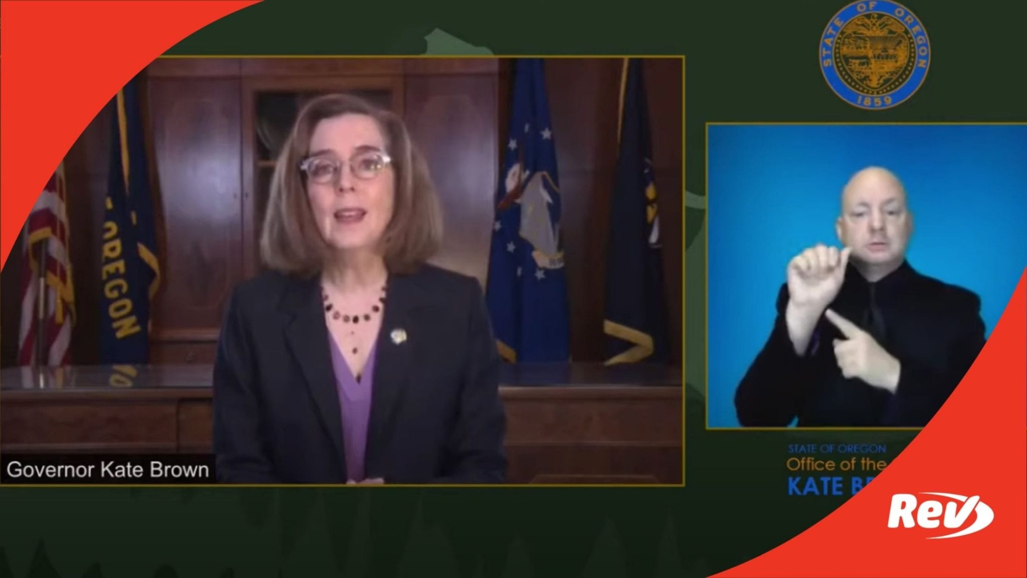 Oregon Governor Kate Brown COVID-19 Press Conference Transcript December 11