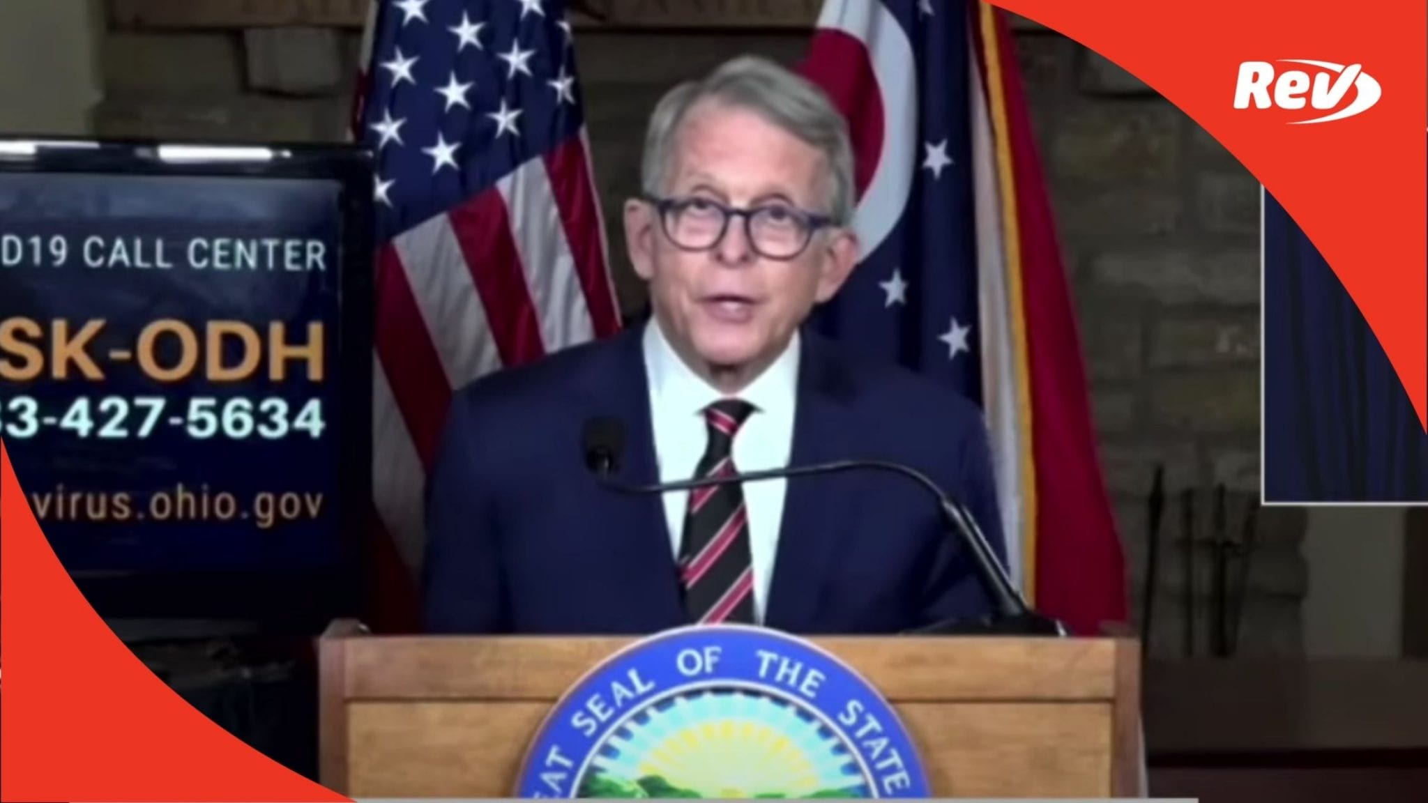 Ohio Gov. Mike DeWine COVID-19 Press Conference Transcript December 14