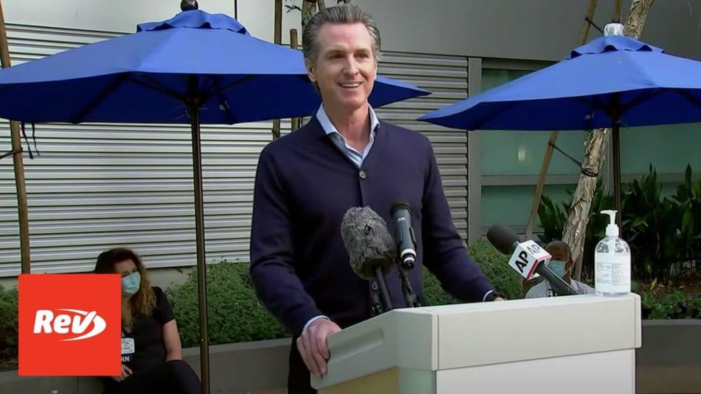 California Gov. Gavin Newsom COVID-19 Press Conference Transcript December 14