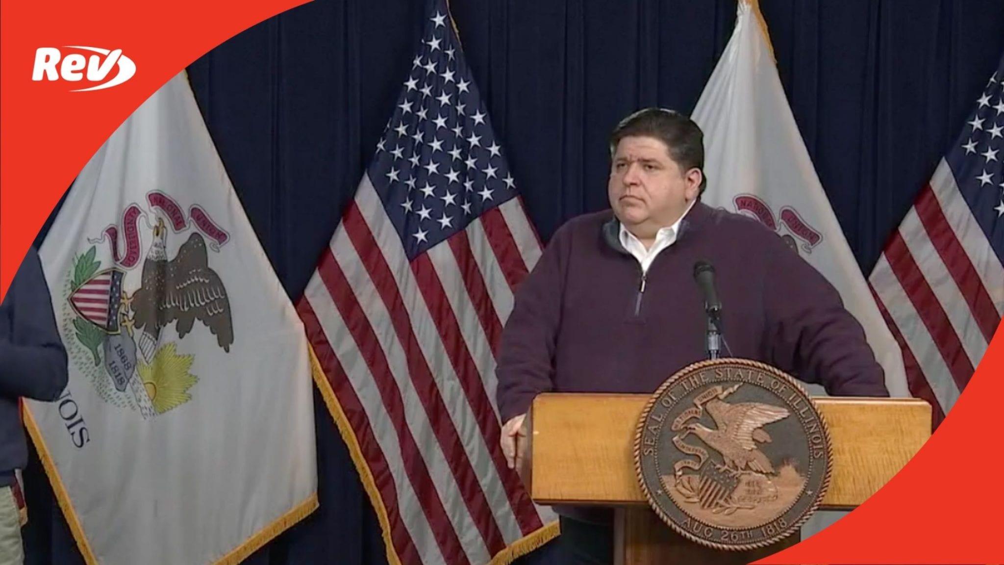 Illinois Gov. JB Pritzker COVID-19 Press Conference Transcript December 15