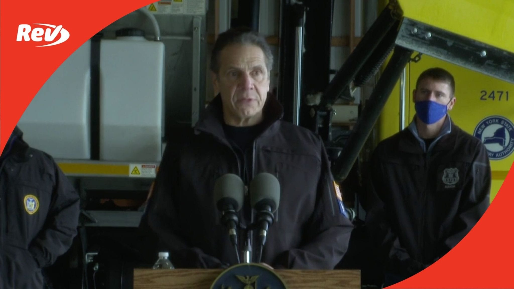 NY Gov. Andrew Cuomo Press Conference Transcript December 17: Declares State of Emergency in 18 Counties