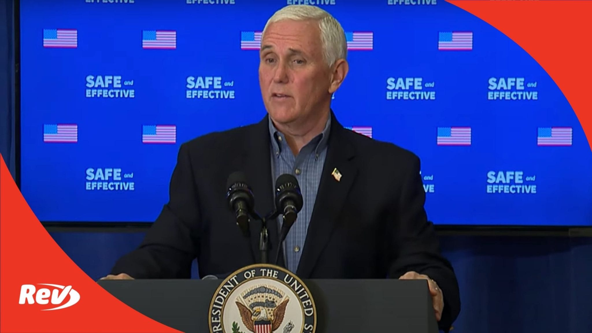 Mike Pence Remarks After Receiving COVID-19 Vaccine Transcript December 18